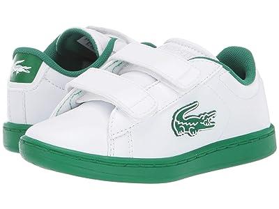 Lacoste Kids Carnaby Evo 319 1 (Toddler/Little Kid) (White/Green) Kid