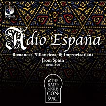 Adio Espana Romances Sonatas