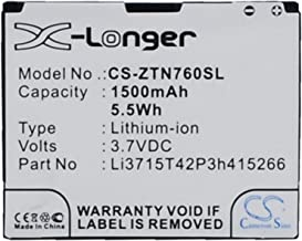 Replacement Battery Part No.Li3715T42P3h415266 for AT&T Avail,N760 Roamer,Z990,Li-ion Smartphone Battery