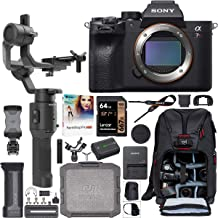Sony a7R IV Full-Frame Mirrorless Interchangeable Lens Camera Body ILCE-7RM4 61.0MP Filmmaker's Kit with DJI Ronin-SC 3-Ax...