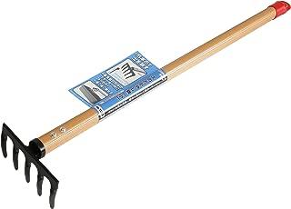 ゴールデンスター(Kinboshi)土のたがやし鍬(小)5本爪600mmアルミ柄付1133