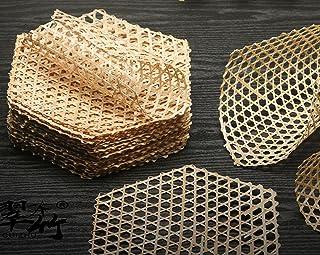 N\C 10Pcs Tapis de Doublure de Vapeur réutilisable en Bambou Tapis de Maille de Doublure de Vapeur antiadhésive pour boule...