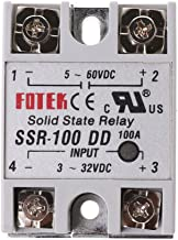 SSR-100 DD Solid State Relay Module 100A 3-32V DC Input 5-60V DC Output Relay Board Use for Automatic Control Systems
