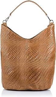 (Light Brown) - FIRENZE ARTEGIANI Women's Shoulder Bag Light Brown