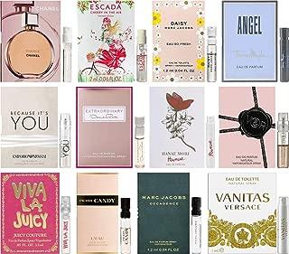 Women's Perfume Sampler Lot x 12 Sample Vials - High End Fragrance Samples (Set 3)