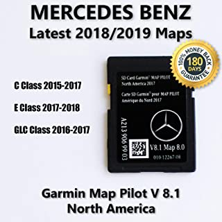 Mercedes-Benz A2139069903 Garmin Map Pilot Navigation SD Card 2017 North America
