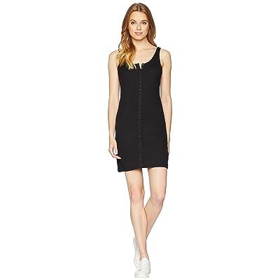 Lucy Love Snap It Up Dress (Black) Women