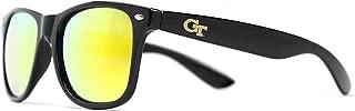 NCAA Georgia Tech Yellow Jackets GT-3 Black Frame, Gold Lens Sunglasses, Black, One Size