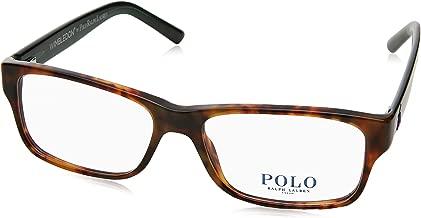 Polo Men's PH2117 Eyeglasses Shiny Jerry Tortoise 54mm