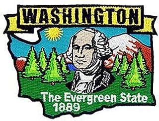 EagleEmblems PM6748 Patch-Washington (State Map) (3'')