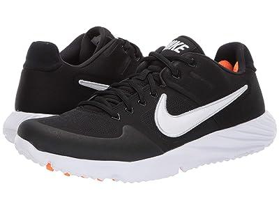 Nike Alpha Huarache Elite 2 Turf (Black/White/Black) Men