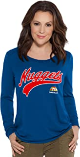 Touch by Alyssa Milano NBA Denver Nuggets Adult Women Redzone Top, Small, Royal