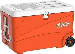 Cosmoplast Keepcold Deluxe 84 Liter Ice Box - Orange