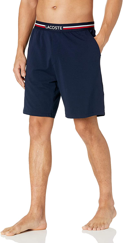 Lacoste Men's Jersey Shorts Pajama Cotton 送料無料 国産品 新品