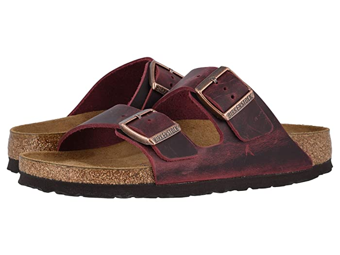 Birkenstock Granada Soft Footbed Sandals Zinfandel Oiled