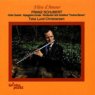 《愛のフルート》~シューベルト:フルートを含む室内楽 Flute D'amour