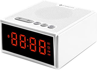 White Noise Machine with Bluetooth Speaker LCD Digital Clock, Timer & Memory Function, Portable Rechargeable Sound Machine...