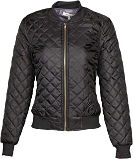 AG Womens Quilted Bomber Jacket Essentials