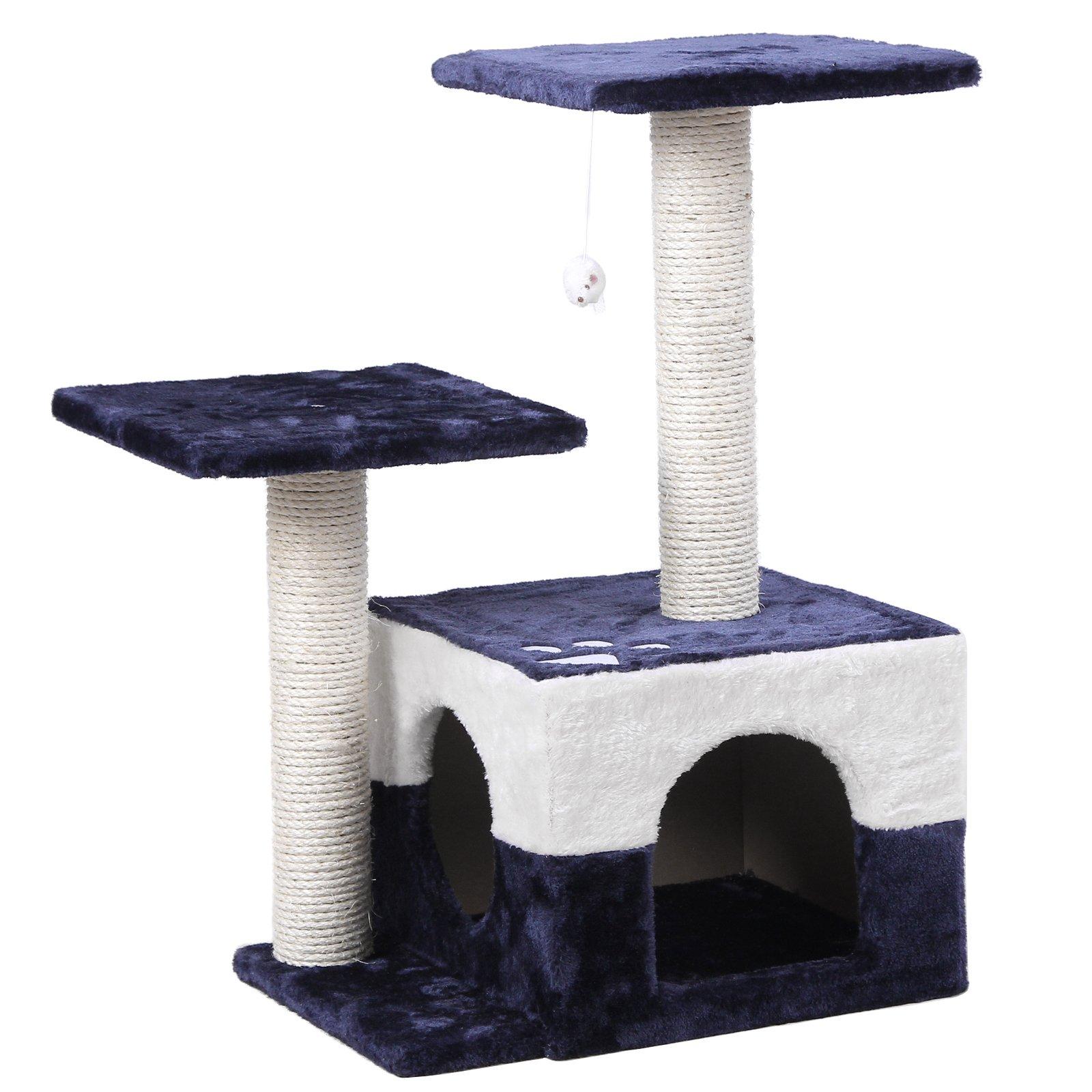 SONGMICS árbol para gatos Griffoir secciones 68 cm, colores a elegir: Amazon.es: Hogar