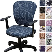Melaluxe Computer Office Chair Covers - Protective & Stretchable Universal Chair Cover Stretch Rotating Chair Slipcover