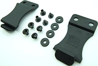 Kydex Holster Belt Quick Clips for IWB/OWB Sheath/Gun Holster Making with Replacement Hardware 1.5