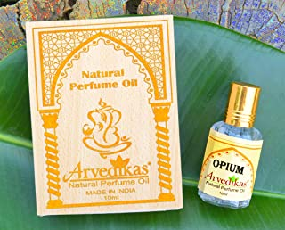 Chakra Alcohol Free Opium Perfume Oil Fragrance Blends Well Essential Long Lasting for Men Glass Bottle with Golden Cap Parfum 10ml