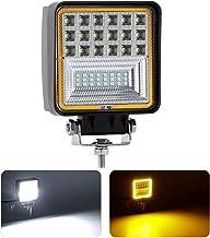 LED Barra de Luz de Trabajo 36W KAWELL 4x4 led Luces diurna veh/ículo Luz de Inundaci/ón Luz Impermeable para barco Offroad SUV ATV UTV 4WD