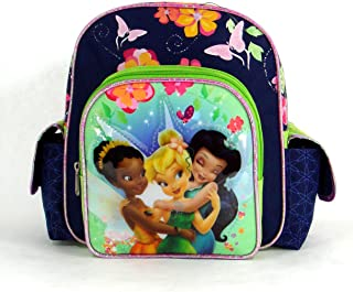 Fairies Backpack - Ride the Breeze - 10in Tinker Bell Mini Backpack Featuring Tinker Bell and Her Friends