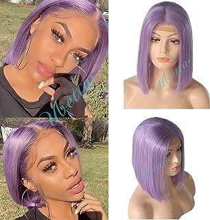 lavender wig human hair