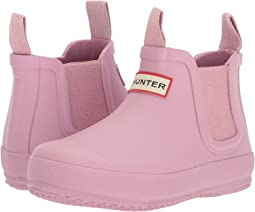 Hunter Kids Flat Sole Chelsea (Toddler/Little Kid)