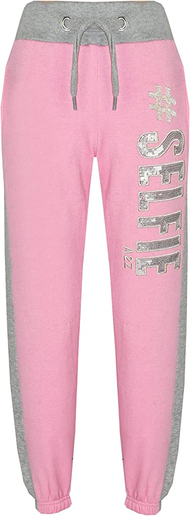 FunkyFashion New Kids Girls Guilty Tracksuit Children Loungwear Leggings Top Set Age 7-13 Years