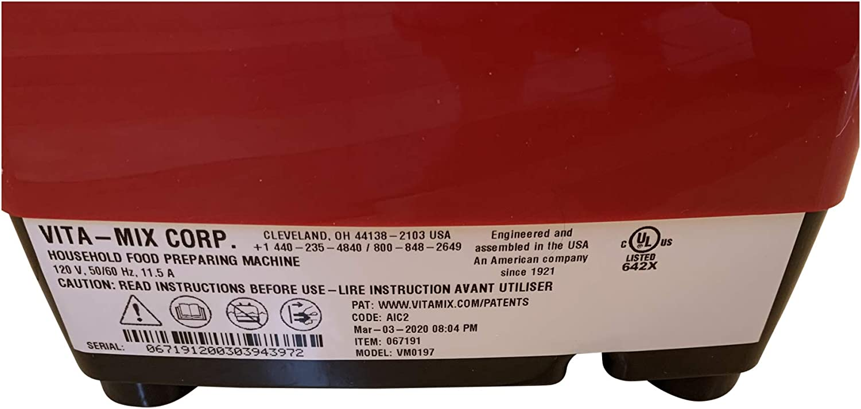 Black Enbizio Genuine Replacement Power base for Vitamix Explorian E310 E320
