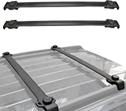 ALAVENTE Roof Rack Cross Bars for Jeep Patriot 2007-2016 Raggage Rail Crossbars with Vertical Side Bars