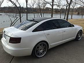 Spoiler King Roof Spoiler (284R) Compatible with Audi A6 C6 Sedan 2004-2011