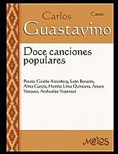 12 Canciones populares: Canto (Spanish Edition)