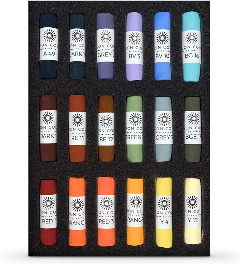 Unison Les Darlow Landscape Ranking TOP15 Set 18 Easy-to-use Pastels of Soft