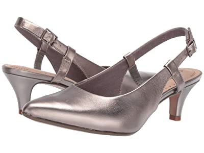 Clarks Linvale Loop (Pewter Leather) Women