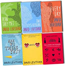 David Levithan Collection 6 Books Pack Set (The Lover's Dictionary: A Love Story in 185 Definitions, Boy Meets Boy, Are We There Yet?, Two Boys Kissing, How They Met and Other Stories, Every Day)