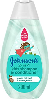 JOHNSON'S, Shampoo, 2-in-1 Kids Shampoo & Conditioner, 200ml