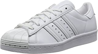 adidas Originals Womens Superstar 80S Metal Toe Casual Trainers Sneakers - White