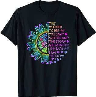 Woman Strong Girls Hippie Shirt I am The Storm Gift T Shirt