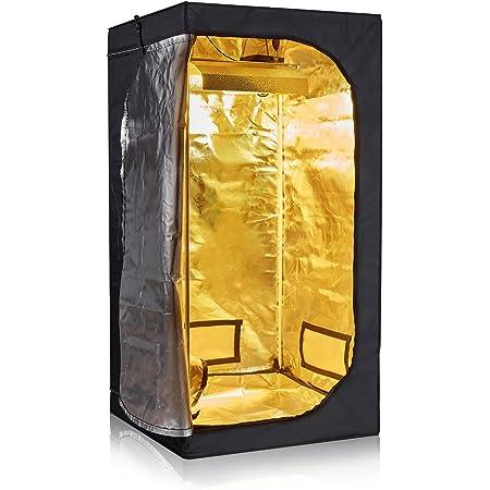 96x96x80 TopoLite 96x96x80 Indoor Grow Tent Room 600D Reflective Mylar Hydroponic Indoor Plants Growing Dark Room