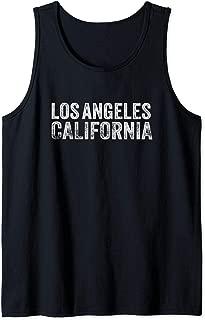 Los Angeles Vintage LA Retro La California So-Cal Tank Top