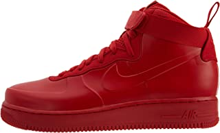 Nike Men's Air Force 1 Foamposite Cup NA Sneaker (10.5 M US, University Red/University Red)