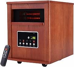1800 Sq. Ft Electric Portable Quartz Tube Space Heater Home Furniture W/Remote