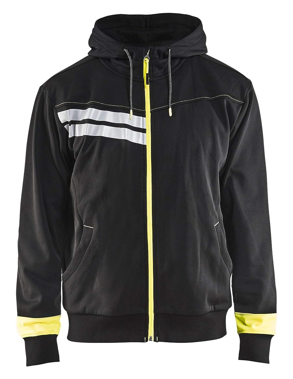 エントリチョークフローティングBlaklader Visibility フード付きスウェットシャツ