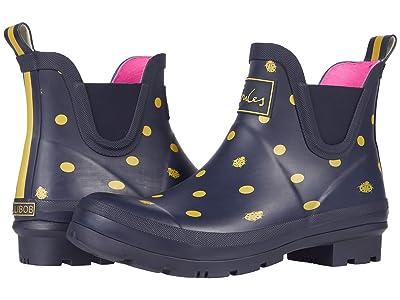 Joules Wellibob Chelsea Boot (Navy Ladybird) Women