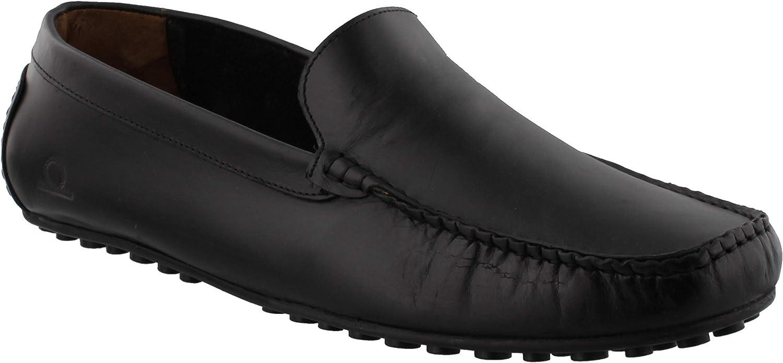 Chatham Ludlow svart Driving Loafer