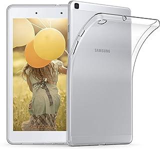 kwmobile Hülle kompatibel mit Samsung Galaxy Tab A 8.0 (2019)   Silikon Tablet Cover Case Schutzhülle Transparent