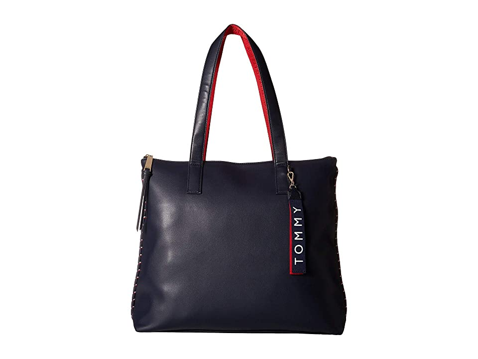 Tommy Hilfiger Devon Tote (Tommy Navy) Tote Handbags